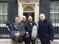 Huw Edwards and Crew, No. 10 Downing Street