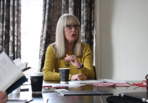 Mairtín Crawford Poetry Award Workshop with Moyra Donaldson
